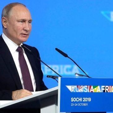 Владимир Путин: африканские страны привлекают все больше внимания российского бизнеса