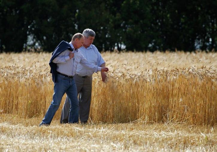 Путин хочет сделать сельское хозяйство современным